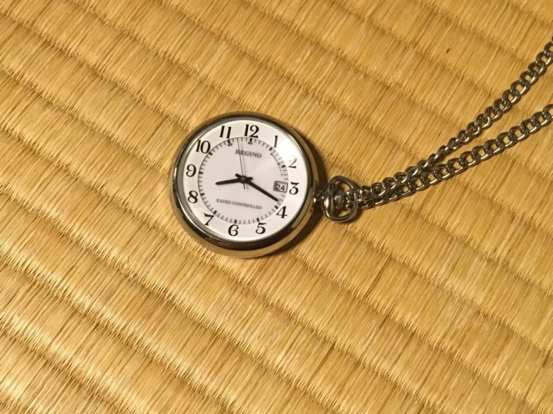 形見の懐中時計