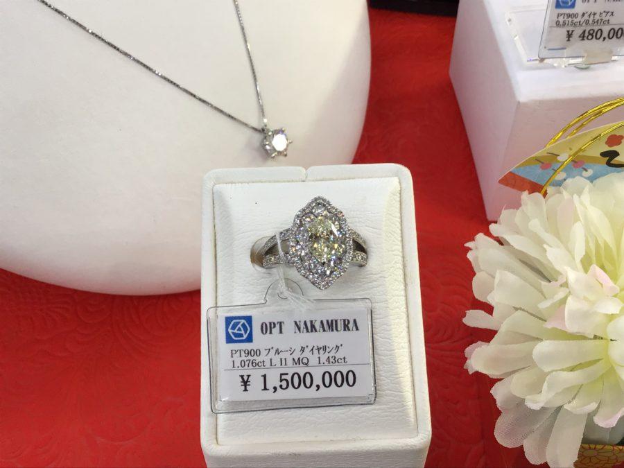 初売り100万円福袋のダイヤモンドリング