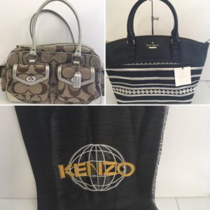 使っていないブランドバッグ等お売りください。~本日の買い取り品~コーチ、ケイト・スペード、KENZO買い取りさせて頂きました。