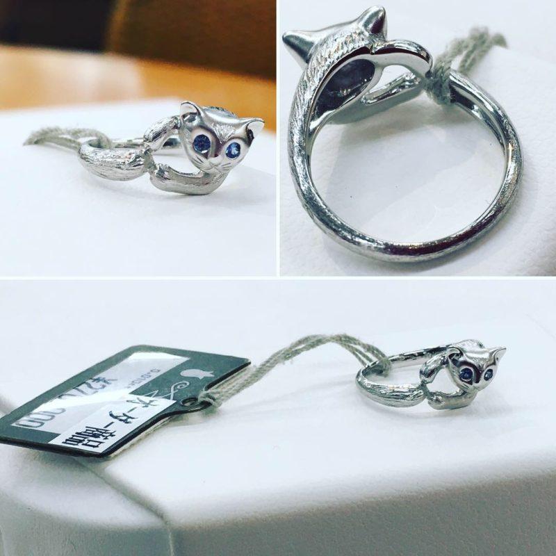 猫リング_catring_猫の指輪