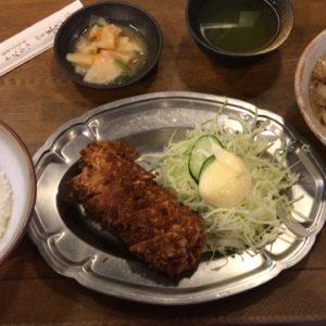 新宿の老舗とんかつ屋「王ろじ」