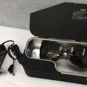 メガネなどクリーニングに便利な超音波洗浄機あります!