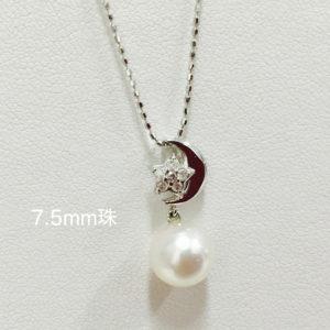 真珠でイメージが華やかになります。~パールジュエリーのおすすめ~