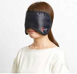 血流促進アイマスクで不眠解消!疲労回復!免疫力アップ!