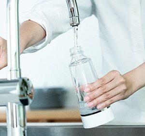 水道水からつくれる安心・安全な高機能除菌液「E-3X」