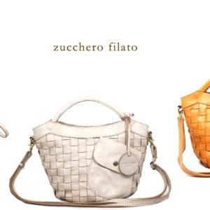 Zucchero filato(ズッケロ・フィラート)人気のバッグのご紹介です。